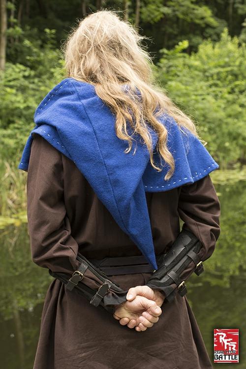 Brassards Viking en cuir, noirs 4