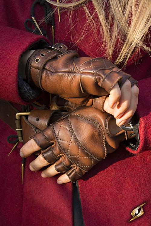 Gants en cuir celtiques 4