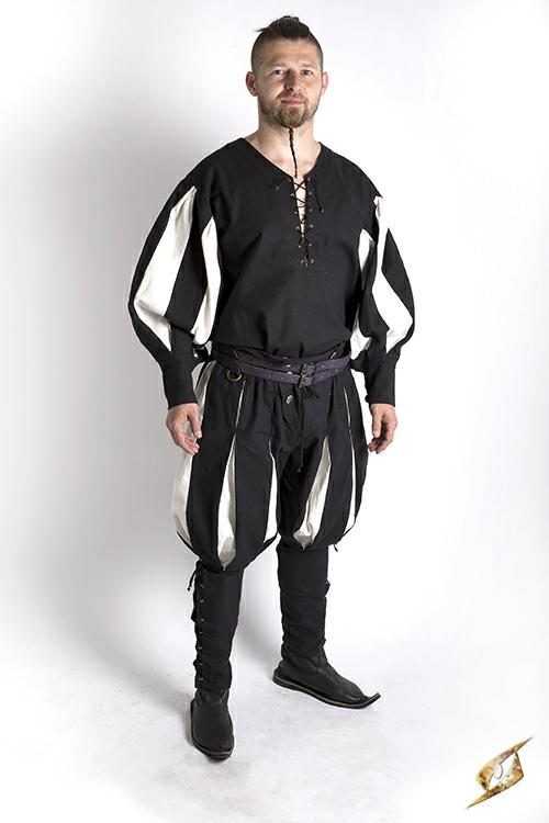 Pantalon Lansquenet noir/écru 4