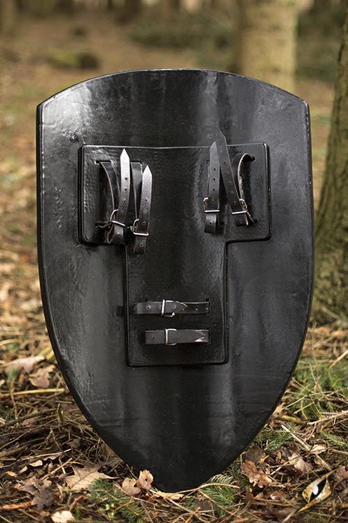 Bouclier lion noir 4