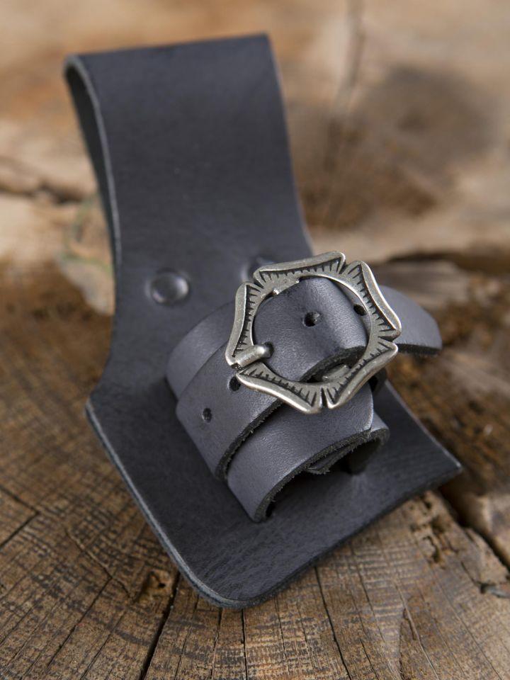 Porte épée, dague ou poignard en noir 4