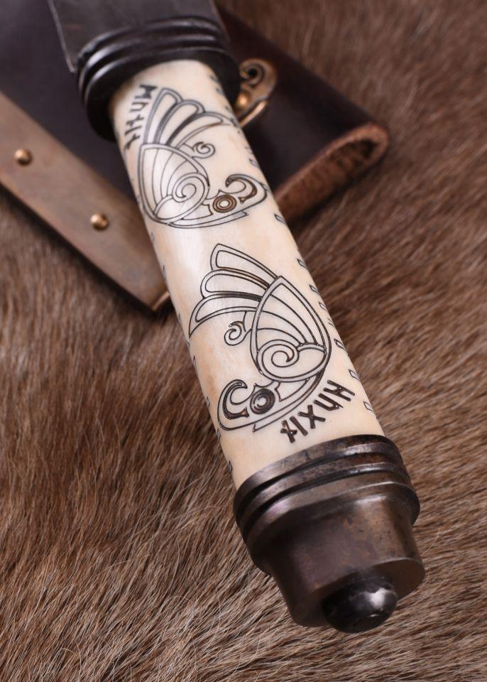 Long Sax Viking avec manche en os 4