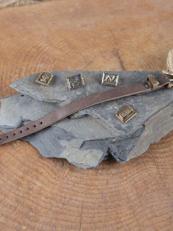 Bracelet en cuir pour Runes 4