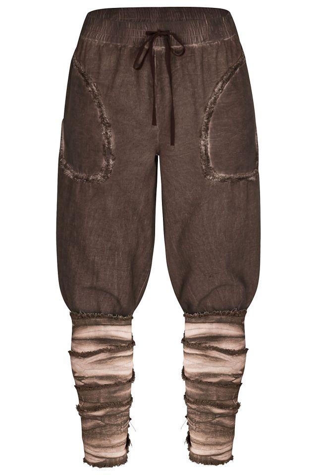 Pantalon Rurik en marron 4