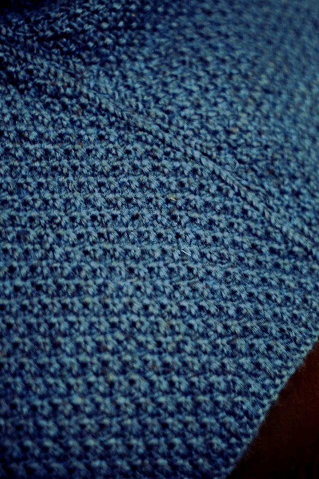 Capuchon Asbjorn bleu pétrole 4