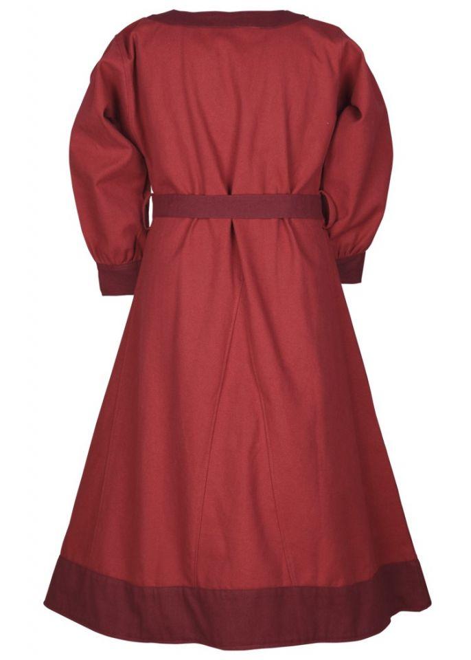Robe Viking pour enfant, rouge/lie de vin 5
