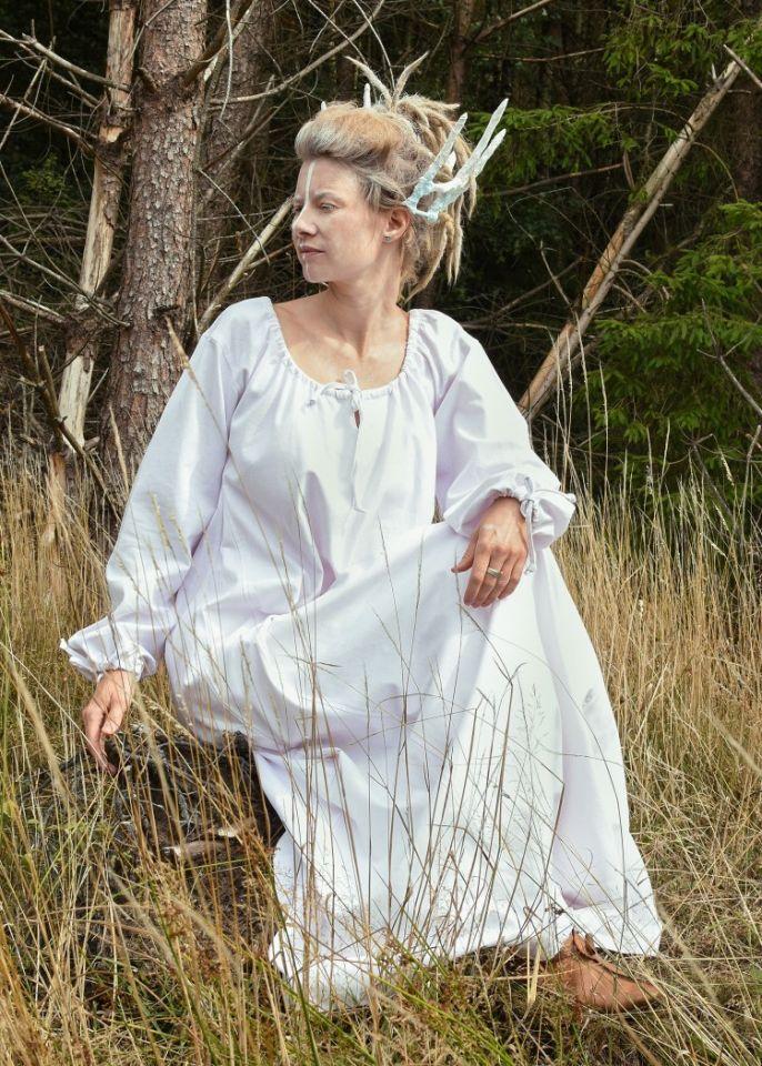Robe Mara blanche 5