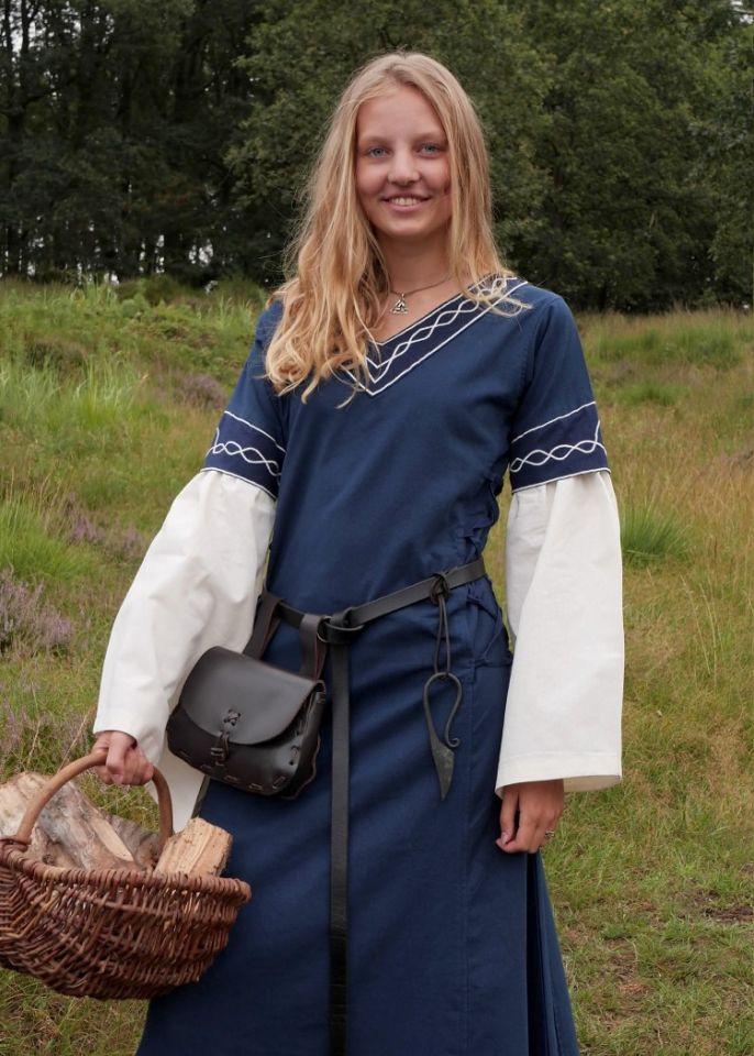 Robe Agatha bleue 5