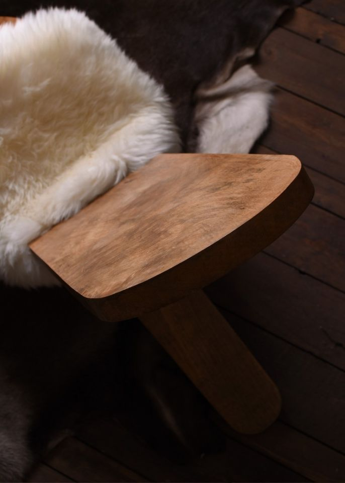 Chaise haute en manguier 5