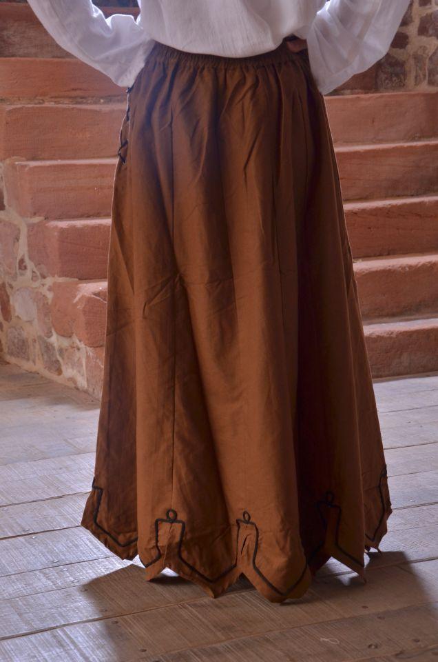 Ensemble jupe, blouse et corset 5