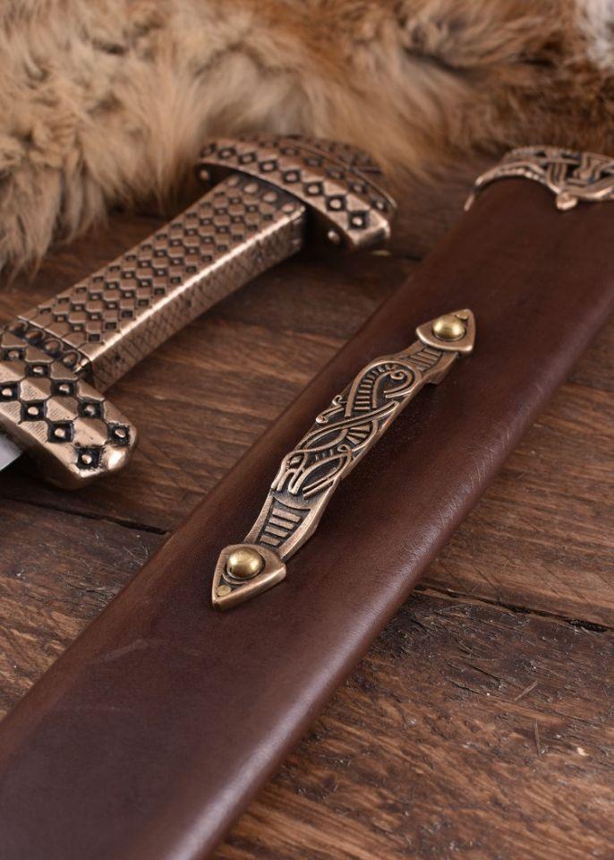 Epée Viking, poignée en bronze 5