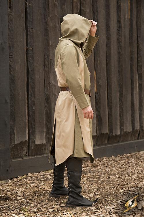 Manteau Altair beige-vert olive S/M 5
