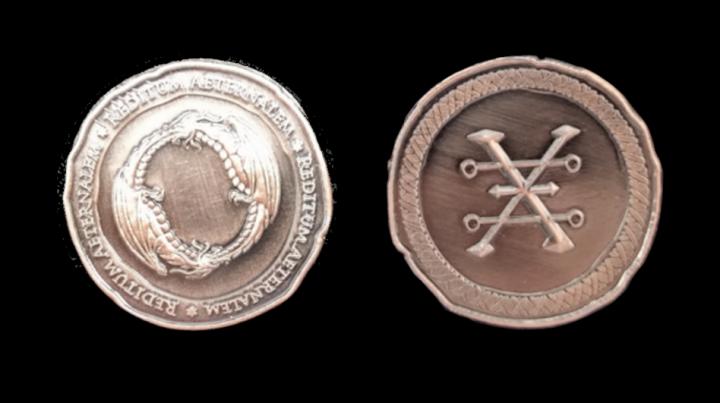 Pièces de monnaie GN Dragon 5