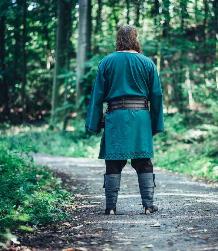 Tunique viking Einar en vert 5