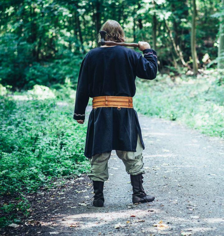 Tunique viking Fenrir noire 5