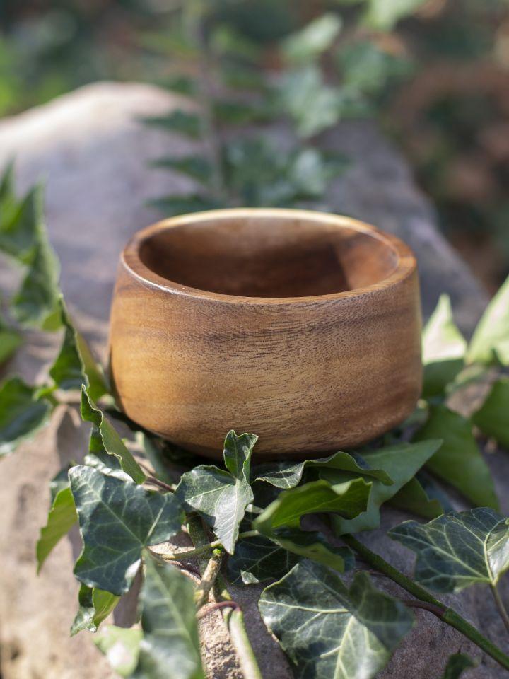 Ramequin conique en bois d'acacia 5