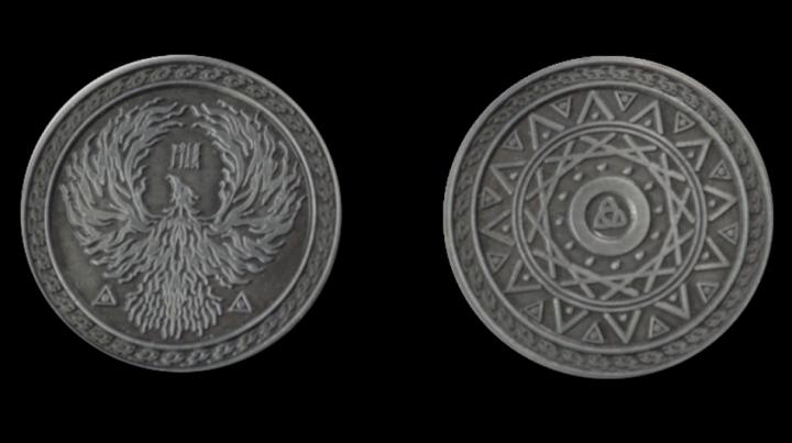 Pièces de monnaie GN Magie 5