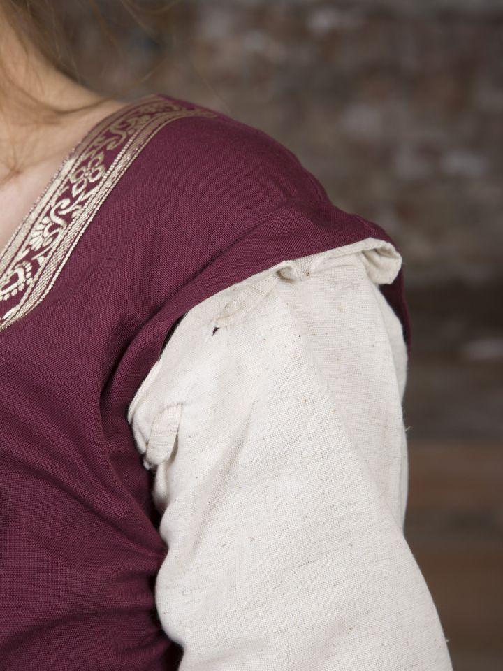 Robe médiévale à manches amovibles 5