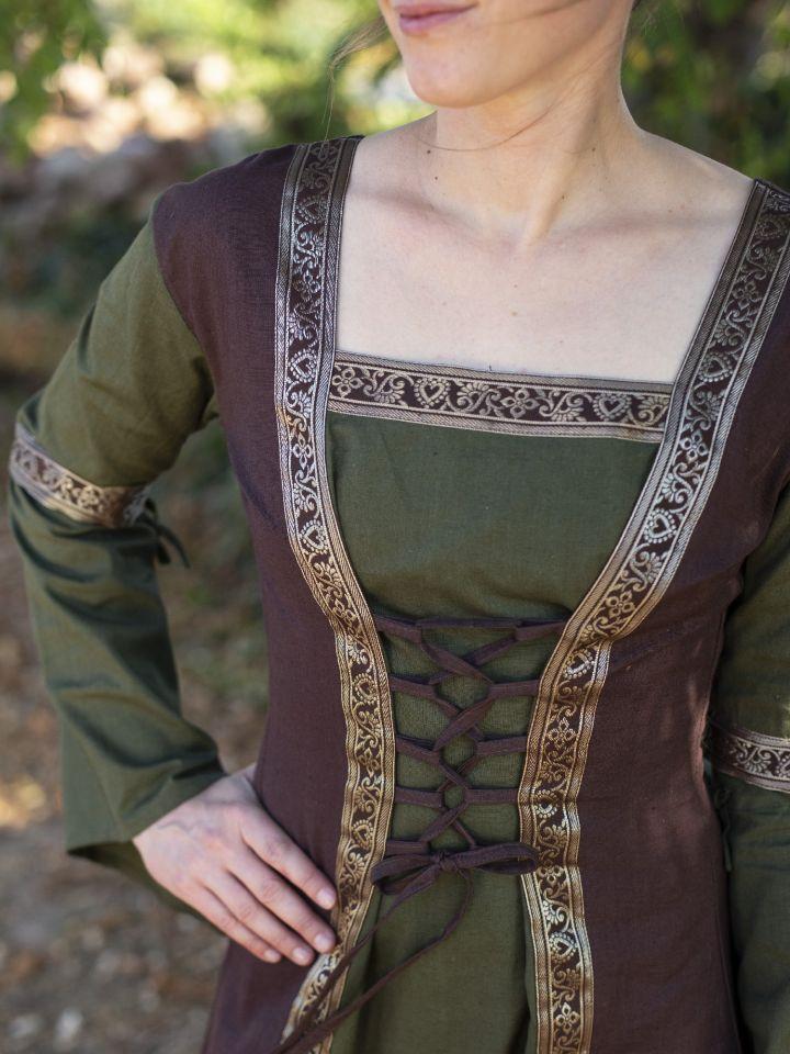 Robe médiévale à manches amovibles (version 3/4) 5