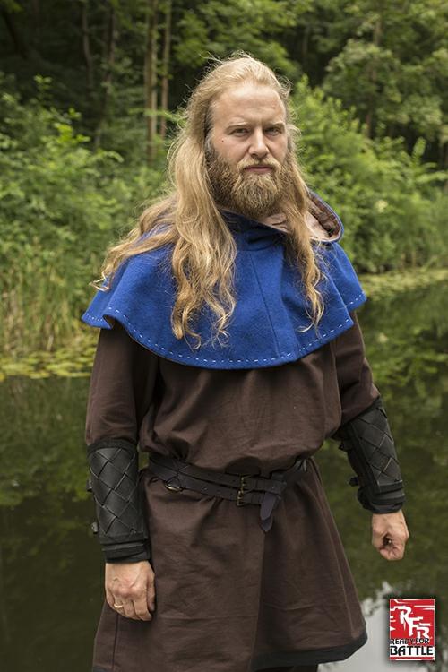 Brassards Viking en cuir, noirs 5