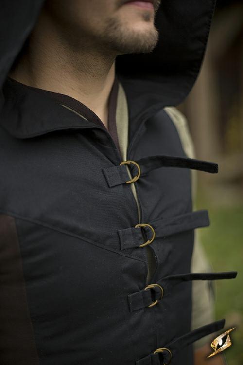 Manteau Altair marron-noir 5