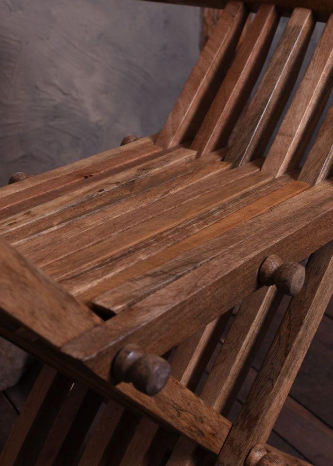 Chaise ciseaux médiévale 5
