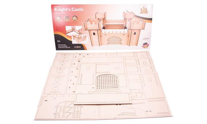 Chateau en bois 3D 6