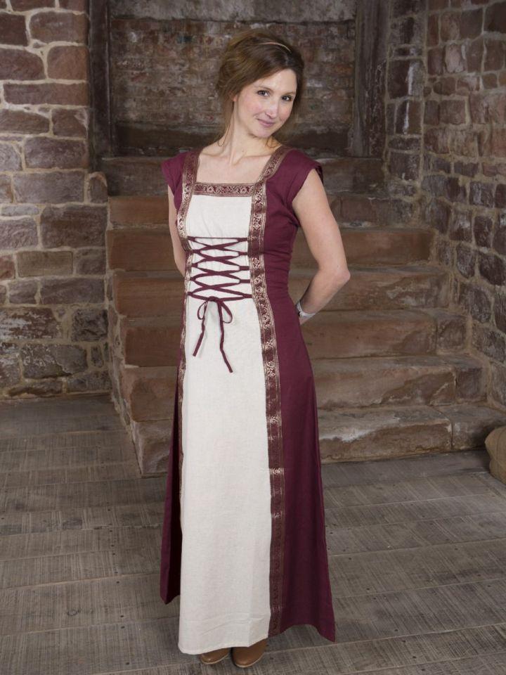 Robe médiévale à manches amovibles S/M 6