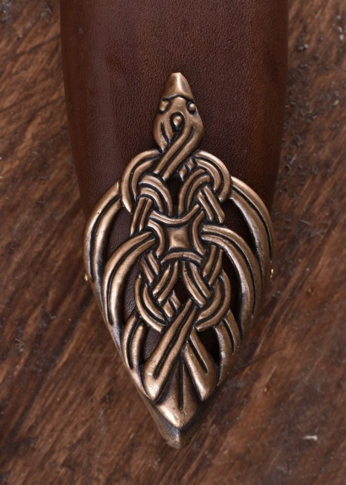 Epée Viking, poignée en bronze 6