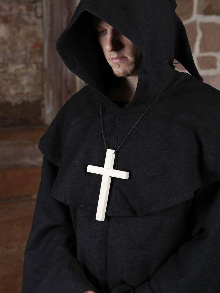 Habit de moine marron | sans croix 6