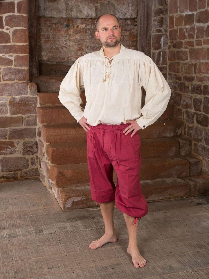 Pantalon médiéval court XL | noir 6
