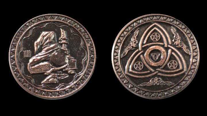 Pièces de monnaie GN Magie 6