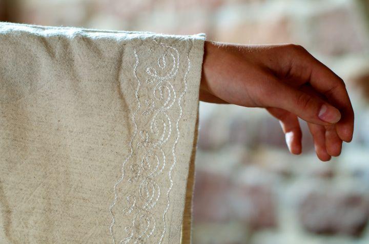 Robe médiévale en lin 6