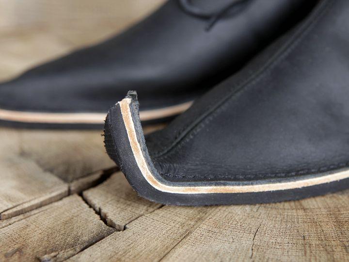 Chaussures médiévales poulaines 6