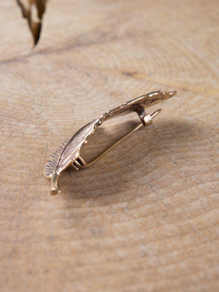 Fibule plume en Bronze 6