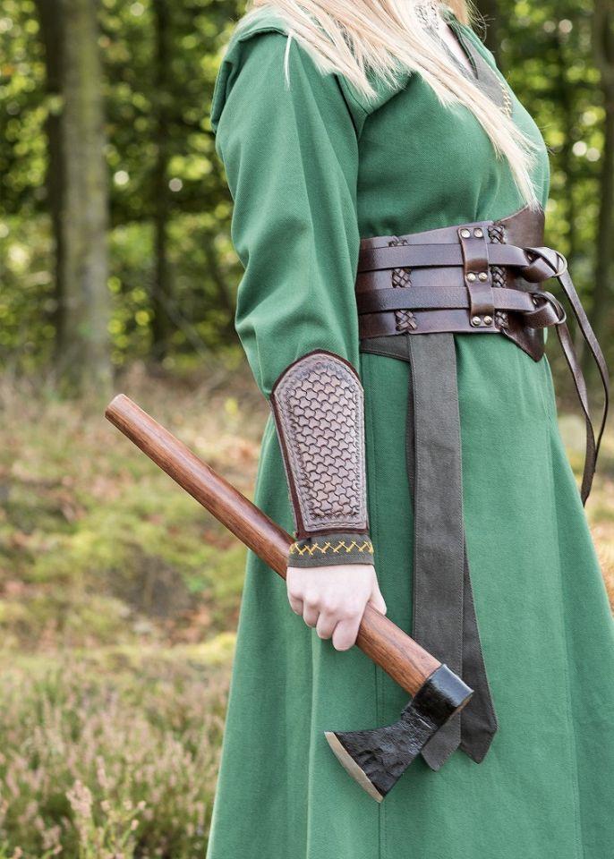Robe viking Freydis en vert 7