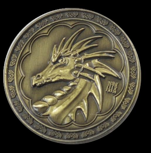 Pièces de monnaie GN Magie 7