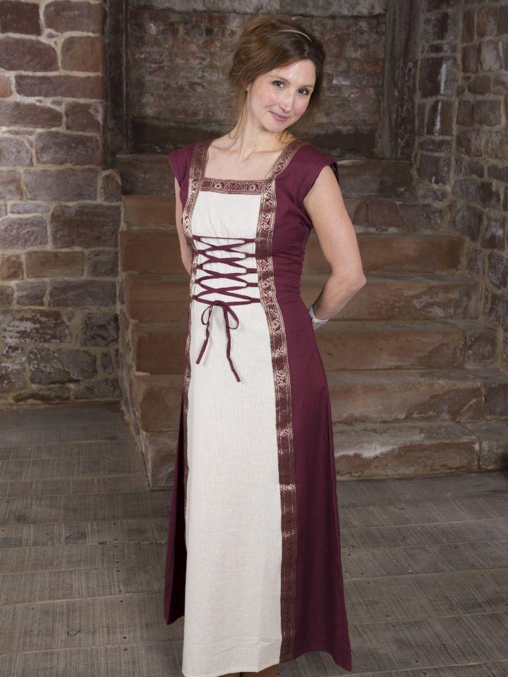 Robe médiévale à manches amovibles 7
