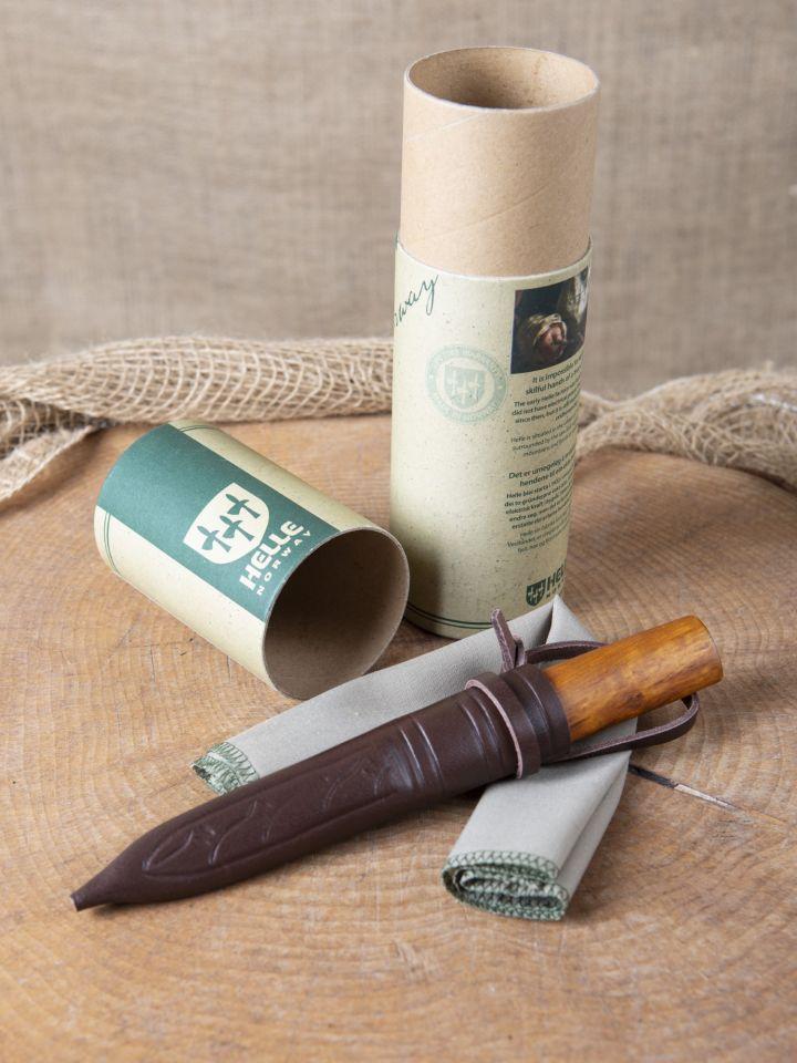 Couteau avec manche en bois de bouleau 7