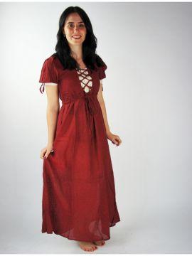 Robe d'été rouge XXL