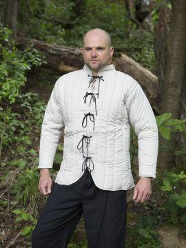Gambison court M | blanc-écru