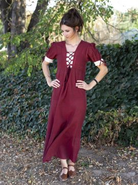 Robe d'été rouge L
