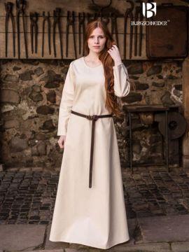 Surcot Freya en blanc-écru XXXL