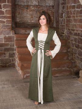 Robe médiévale à capuche XXL