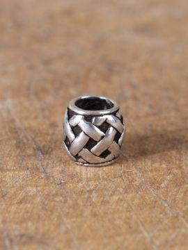 Perle Viking motif tressé à l'unité