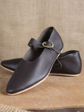 """Chaussures """"Hedwig"""" Haut/Fin - Moyen Age"""