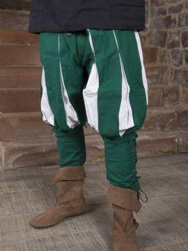 Pantalon Lansquenet vert/écru S