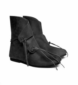Bottines Vikings Haithabu en noir 40