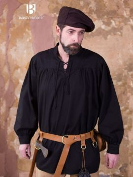 Chemise médiévale en coton robuste L