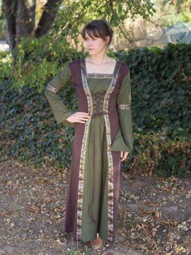 Robe médiévale à manches amovibles (version 3/4) S/M